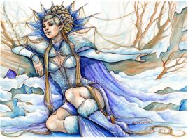 Lady Winter by CristianaLeone