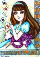 Alice in Wonderland by Amelie-the-Fox