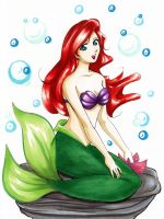 Ariel for Leia by Ranefea