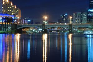 Yarra River Melbourne by beanarts