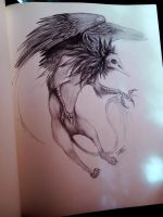 Necro Griffin by NienorGreenfield