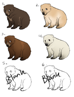 More bear adopts - open - by PointAdoptsforyou