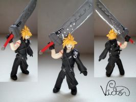 Cloud Strife by VictorCustomizer