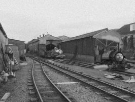 1867 - Crovans Gate Sheds by GBHtrain