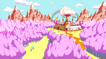 Adventure Time - Candy Kingdom by fullerenedream