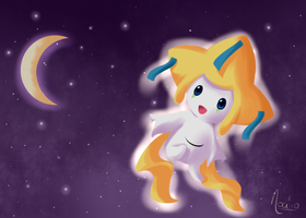 Digital Painting- Jirachi by Winoa