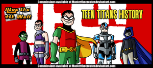 AT4W: The New Teen Titans by MTC-Studio