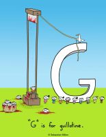 G is for Guillotine by sebreg