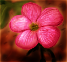 Flower Painting by gigatwo