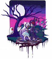 Grave Stroll by bittermause