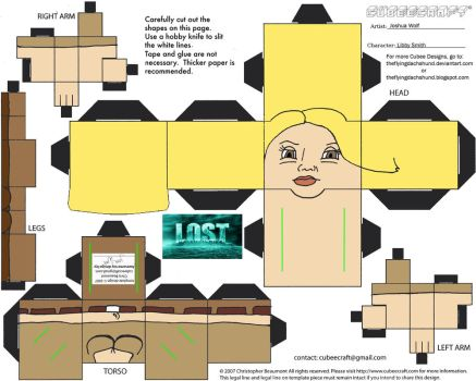 Lost4: Libby Smith Cubee by TheFlyingDachshund