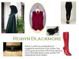 Robyn Blackmore Outfit Collage by GrellSutcliffFanatic