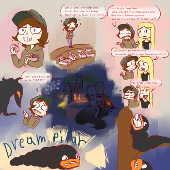 Dream doodles by CHibilover0