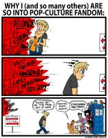 Pop Culture Fandom comic by Luke Ski by artbylukeski