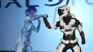 PAX - Cortana VS Spartan by Hyokenseisou-Cosplay