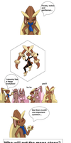 Six Lopunny and one Mega Stone by PlatinaSena