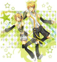 Kagamine Twins -Append- by rhymebox