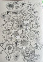 Fill the page with Flowers by Simply-Unreal