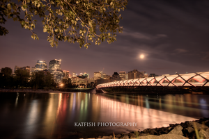 Bow River bridge by Ironwi11