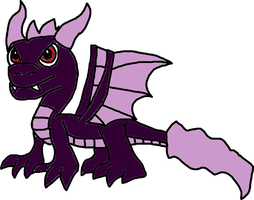 Dark Spyro by Blackrhinoranger