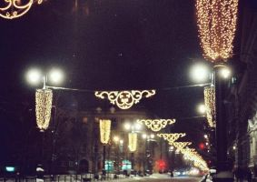 oh Christmas lights by MrsIndreWay