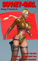Jenny Poussin is Soviet Girl by greene-tee