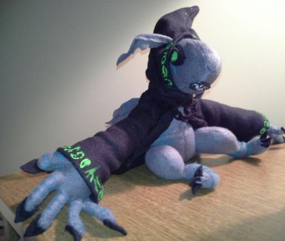 Plushie Comission. by KittyNocturna