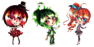 UTAU Chibis -Set 7- by shinamiEBA