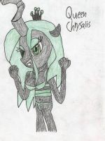 how to draw queen chrysalis part 1 by shawnventura