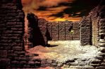 Infernal ruins by magrib
