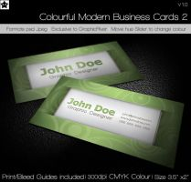Colorful Business Card by HollowIchigoBanki