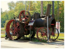 Advance Thresher Company Steam Tractor by TheMan268