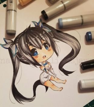 Chibi Hestia by NauticaWilliams