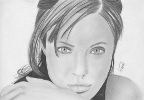Angelina Jolie by Jon-Wyatt