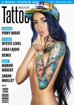 Hungarian Tattoo Magazine 184 - August 2015 by hortipeter