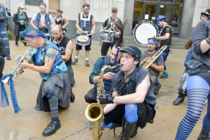 2014 Honk Festival, Chaotic Noise Boogie Down 2 by Miss-Tbones