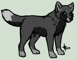if i was a wolf by Danny-Senpai