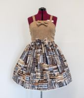 Library Dress by sweetmildred