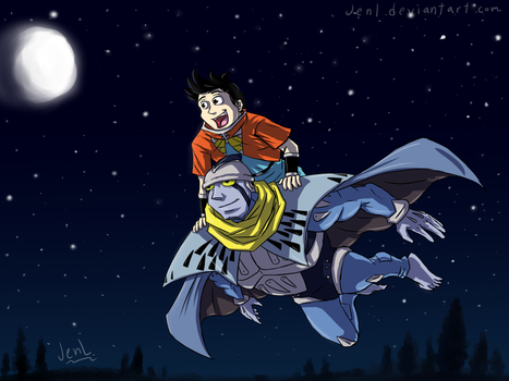 Beet the Vandel Buster - Night Sky by JenL