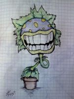Plants vs Zombies by StrangerinHat