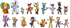 Pokemon Trainers.. Literally.