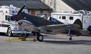 Curtiss P-40C outside by shelbs2