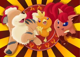 Team Fire by LiviaRedo