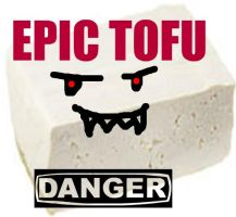 Epic Tofu logo by comicgrrl777