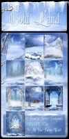 Cold Land backgrounds by moonchild-ljilja