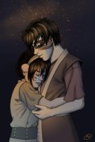 Mine : Toph and Zuko by hypercrabby