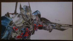 Transformers Age of Extinction - Optimus Prime by damianzielinski