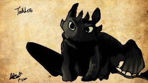 Toothless by NoodleSuperPot