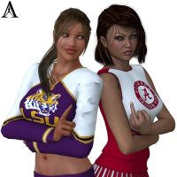 LSU vs Alabama by Antileaf-Artworks