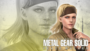 MGS: Peace Walker Wall. Cecile by B4H